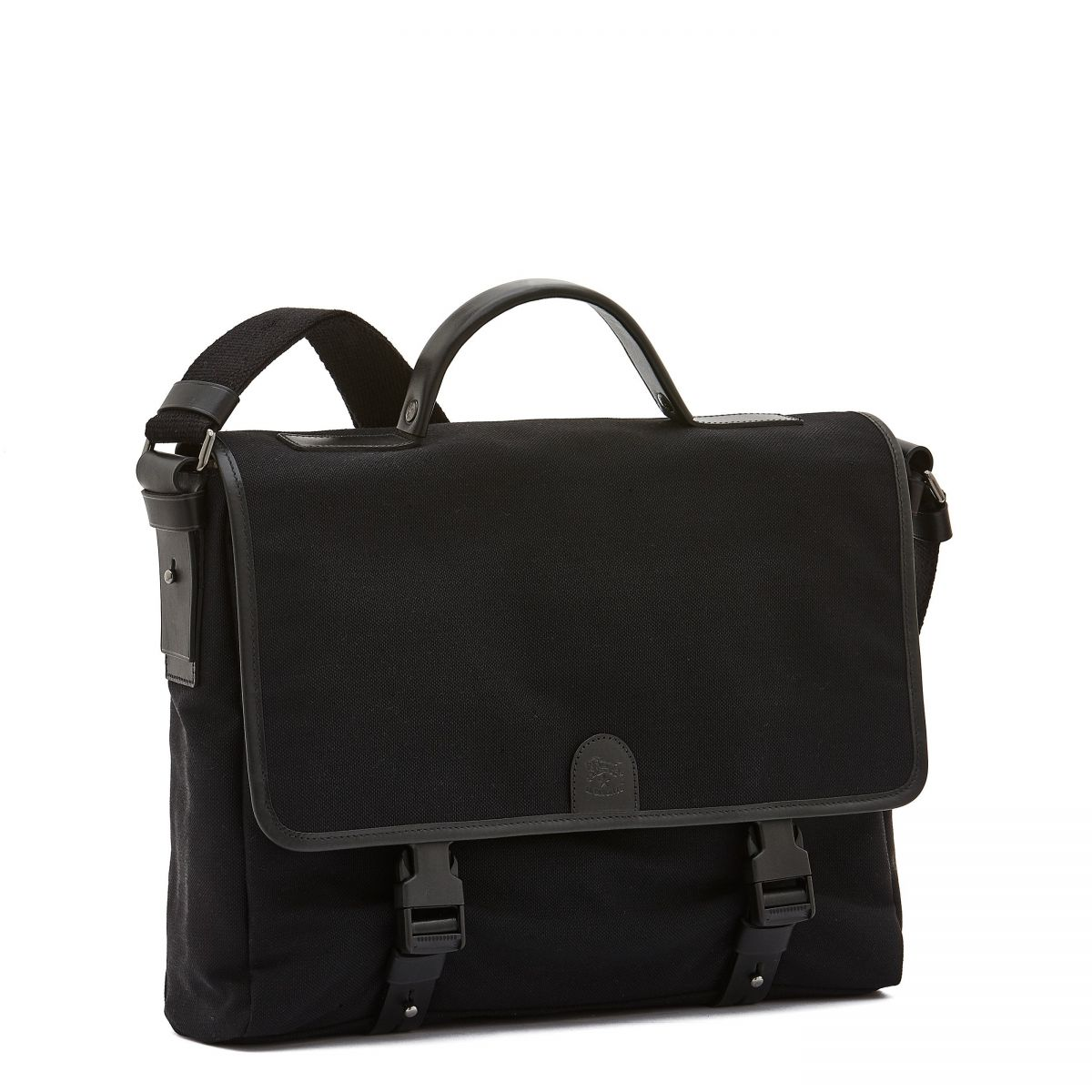 Briefcase  in Technical Fabric BBC044 color Black/Black | Details