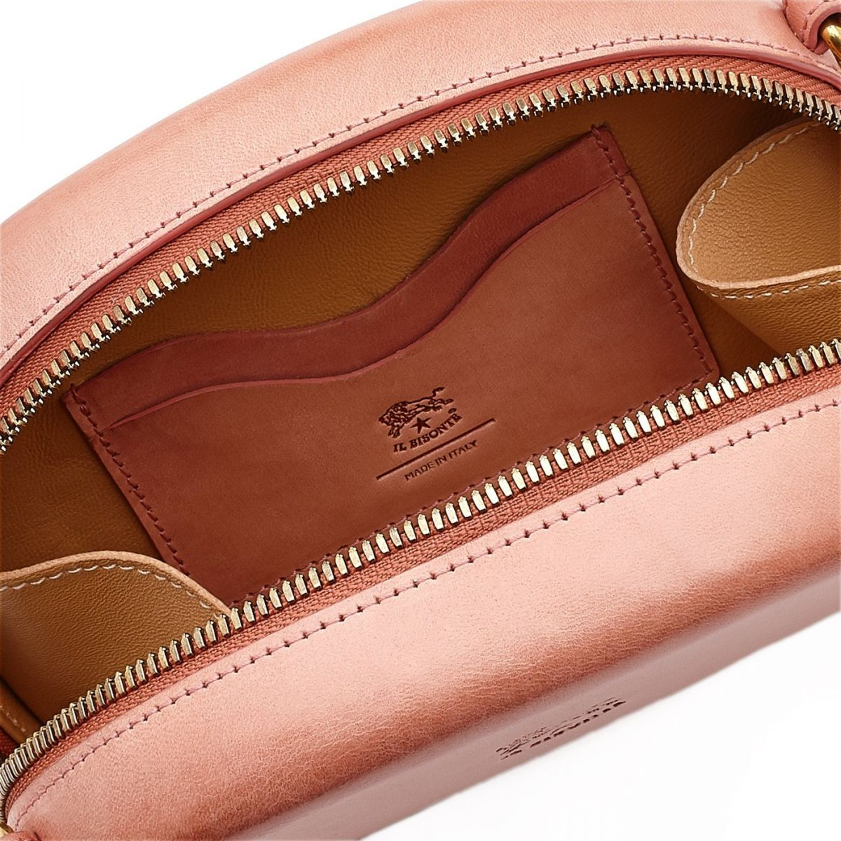 Borsa A Tracolla da Donna  in Cuoio BCR147 colore Rosa | Details