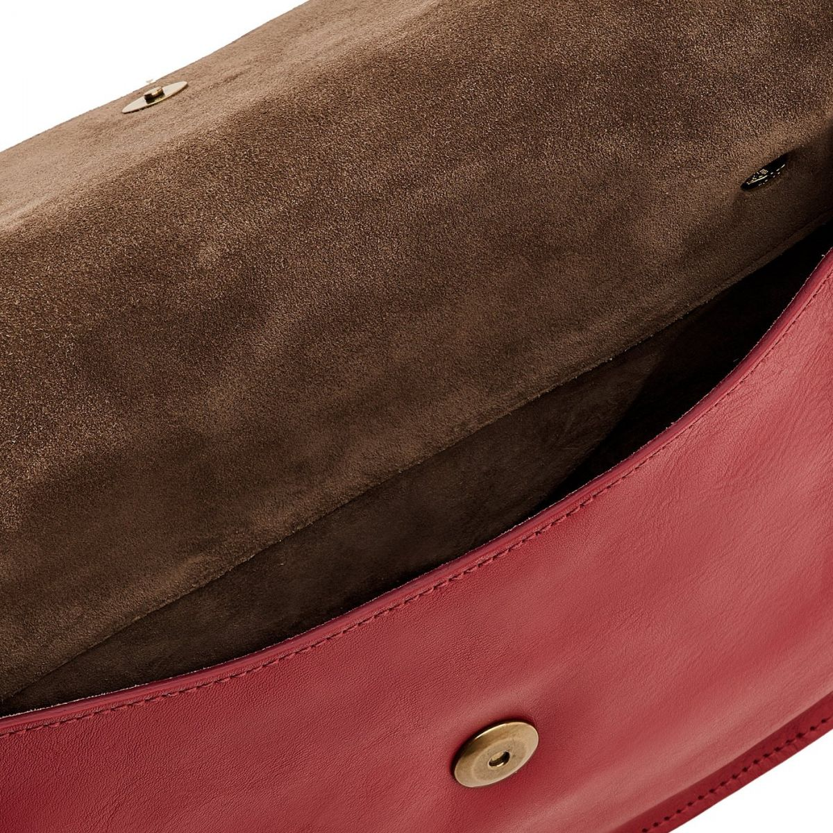 Women's Crossbody Bag Salina in Cowhide Leather BCR173 color Sumac | Details