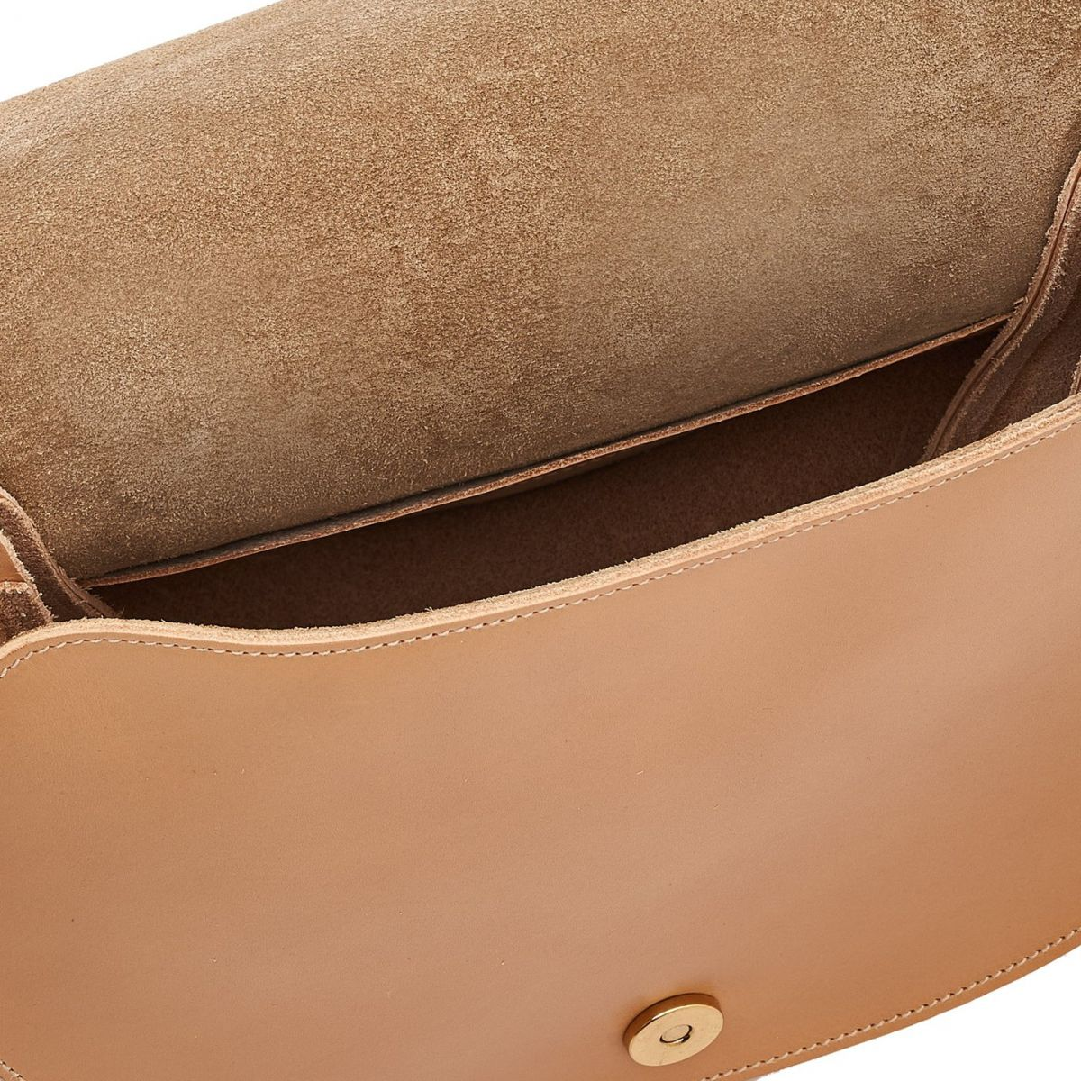 Women's Crossbody Bag Consuelo in Cowhide Leather BCR193 color Natural | Details