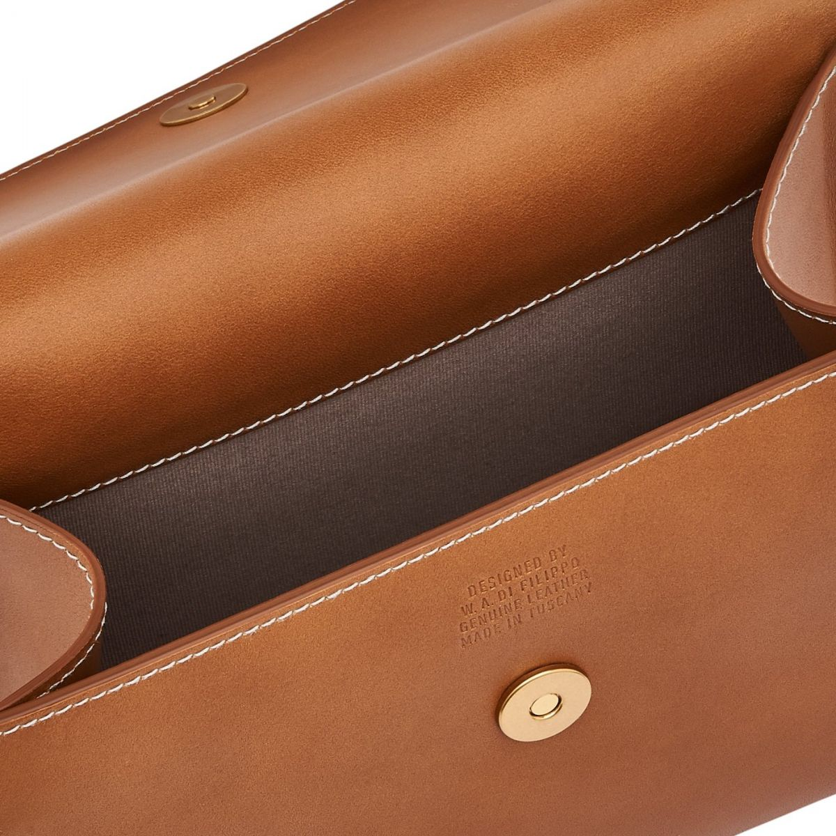 Stufa - Women's Crossbody Bag Fifty On in Cowhide Leather BCR223 color Natural | Details