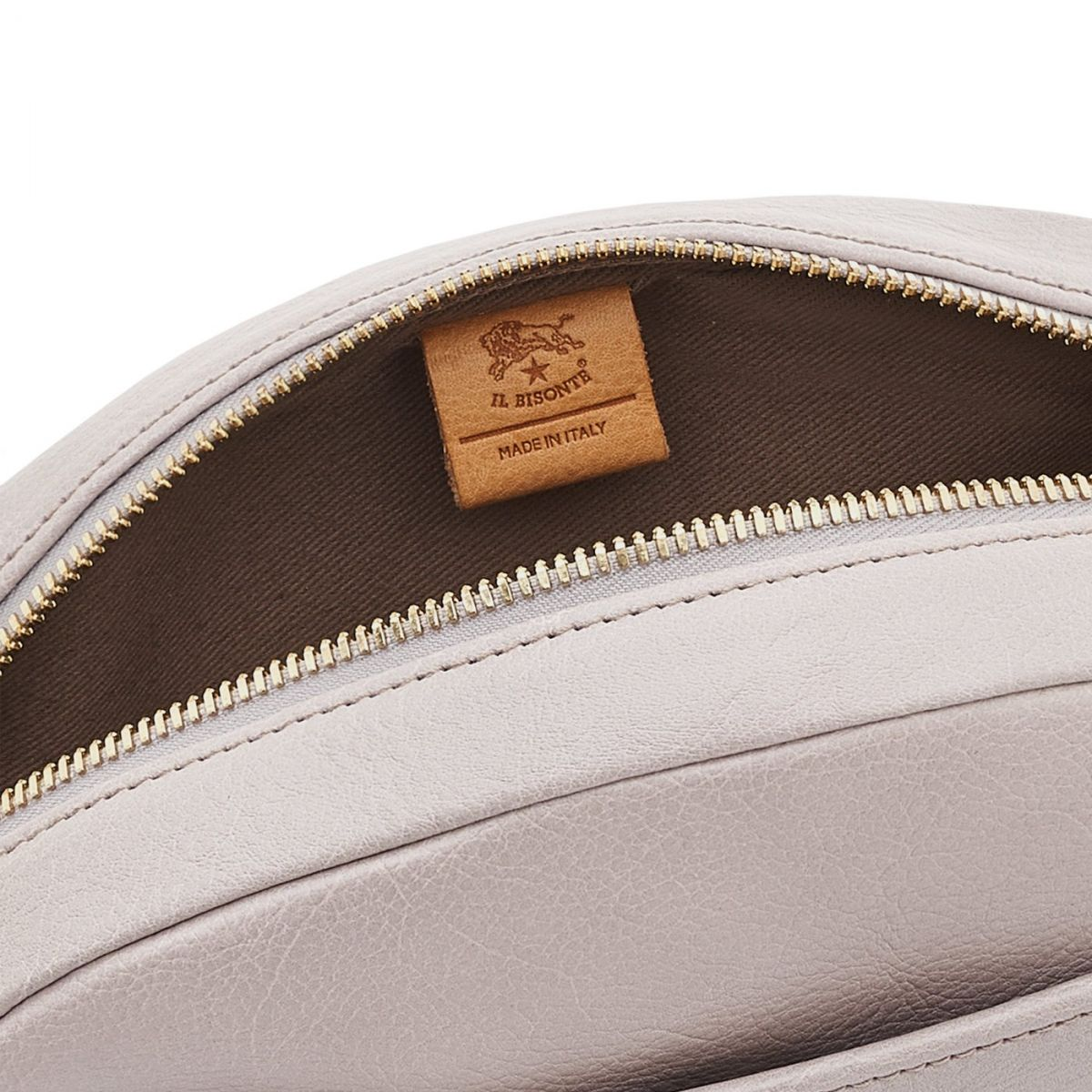 Women's Crossbody Bag in Cowhide Leather color Mauve - BCR243 | Details