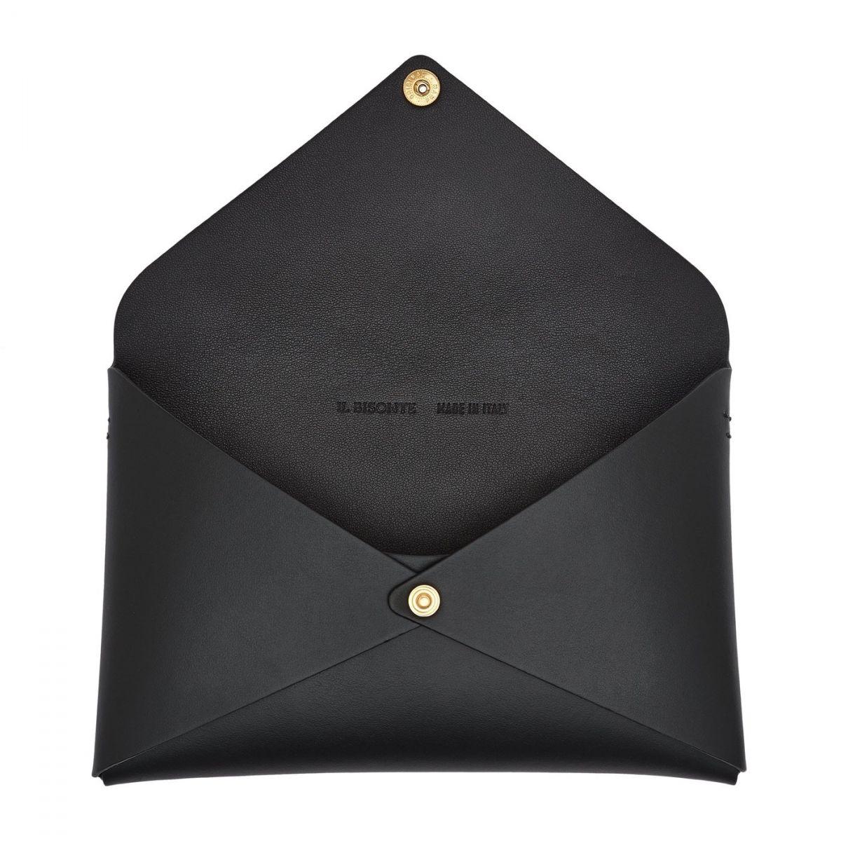 Titania - Borsa A Spalla da Donna Multipocket in Pelle Di Vitello BSH137 colore Nero | Details