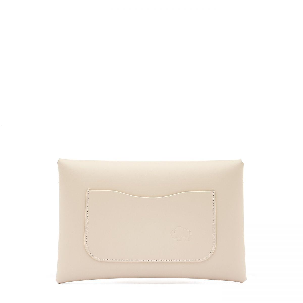 Titania - Women's Shoulder Bag Multipocket in Calf Leather BSH137 color Wool | Details