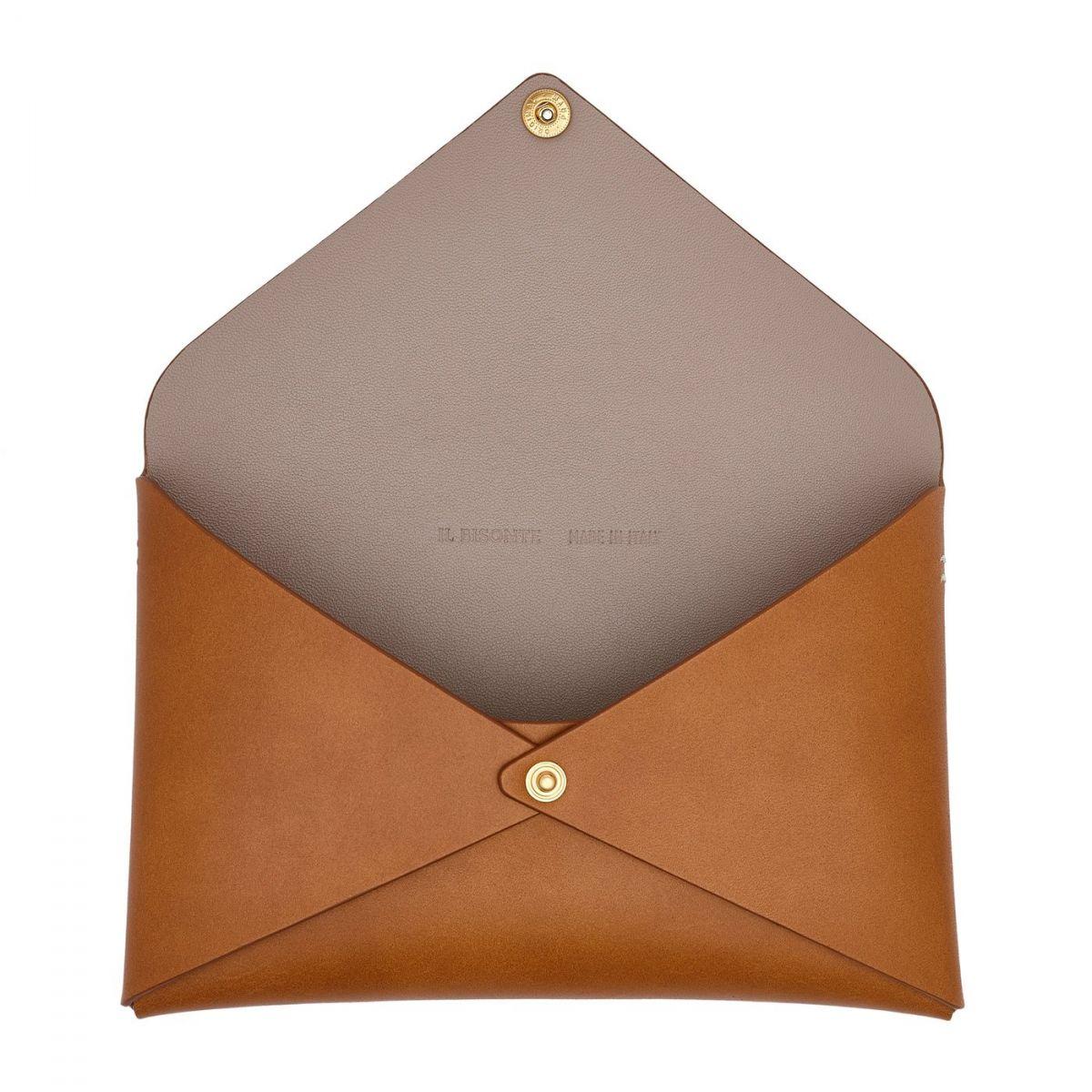 Titania - Women's Shoulder Bag  in Cowhide Leather BSH137 color Natural | Details