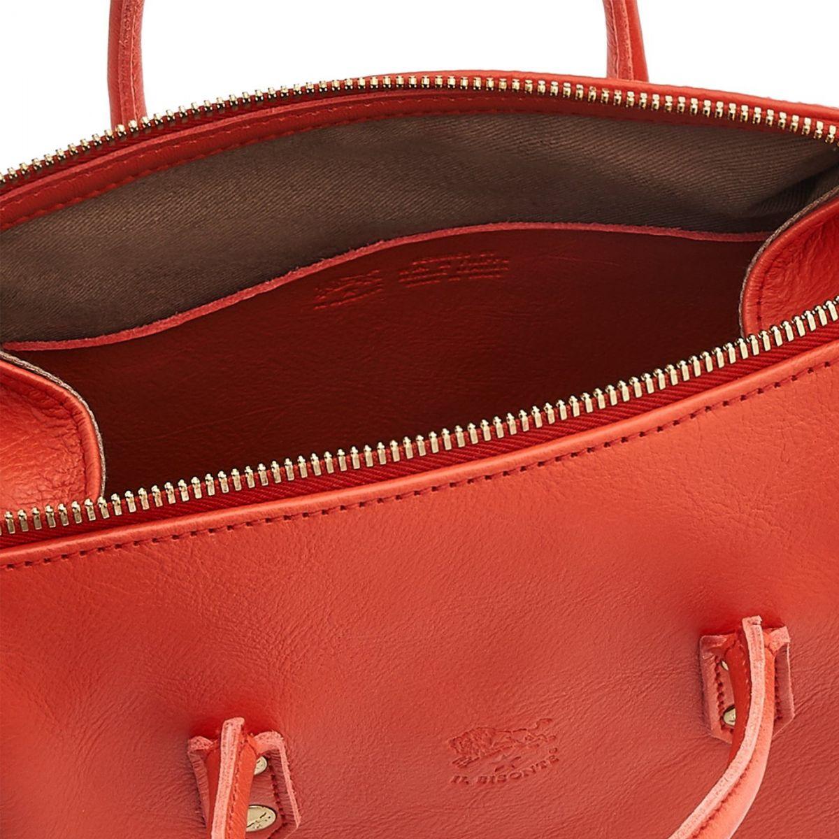 Women's Handbag Pratolino in Cowhide Leather BTH049 color Gazpacho | Details