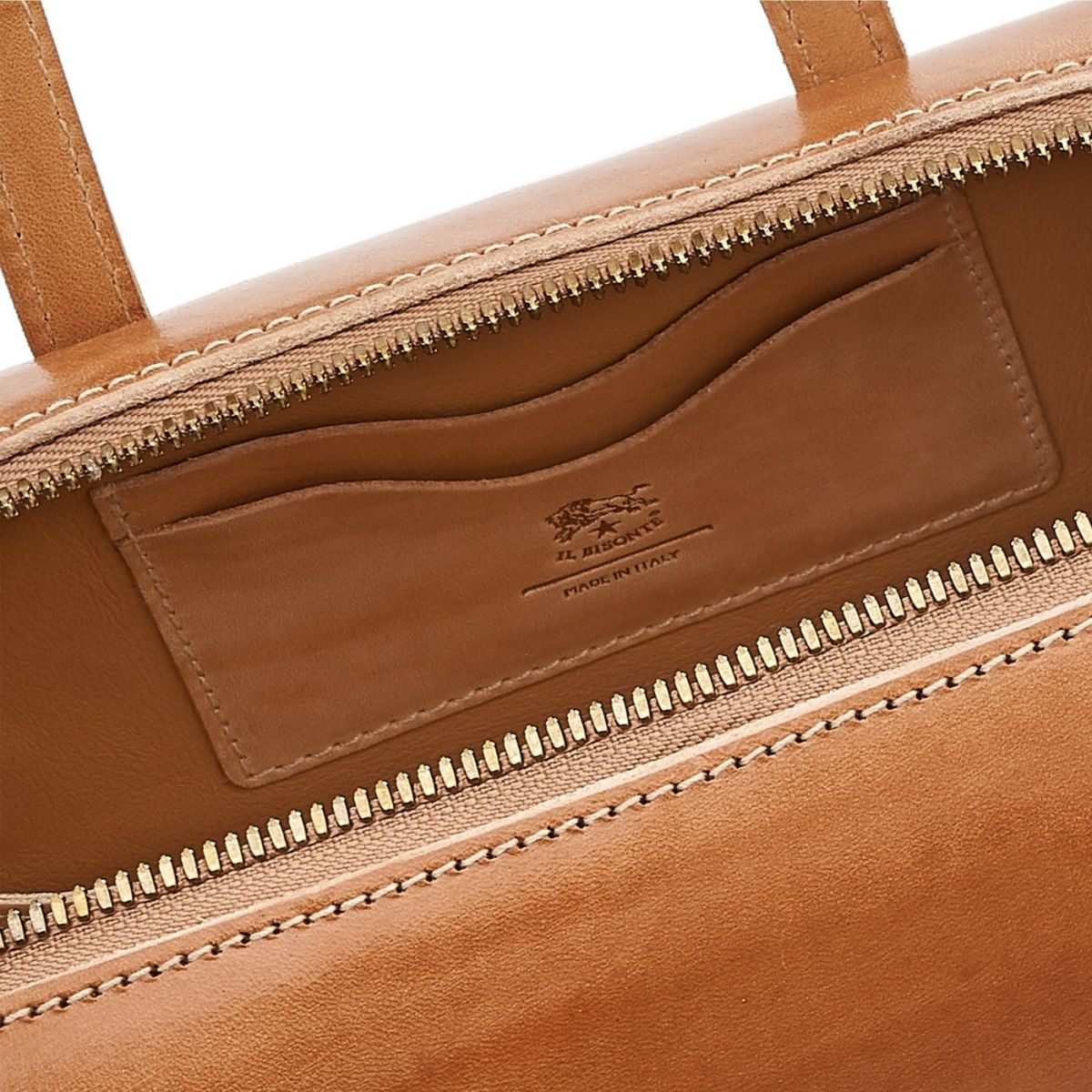 Women's Handbag  in Leather BTH102 color Natural | Details