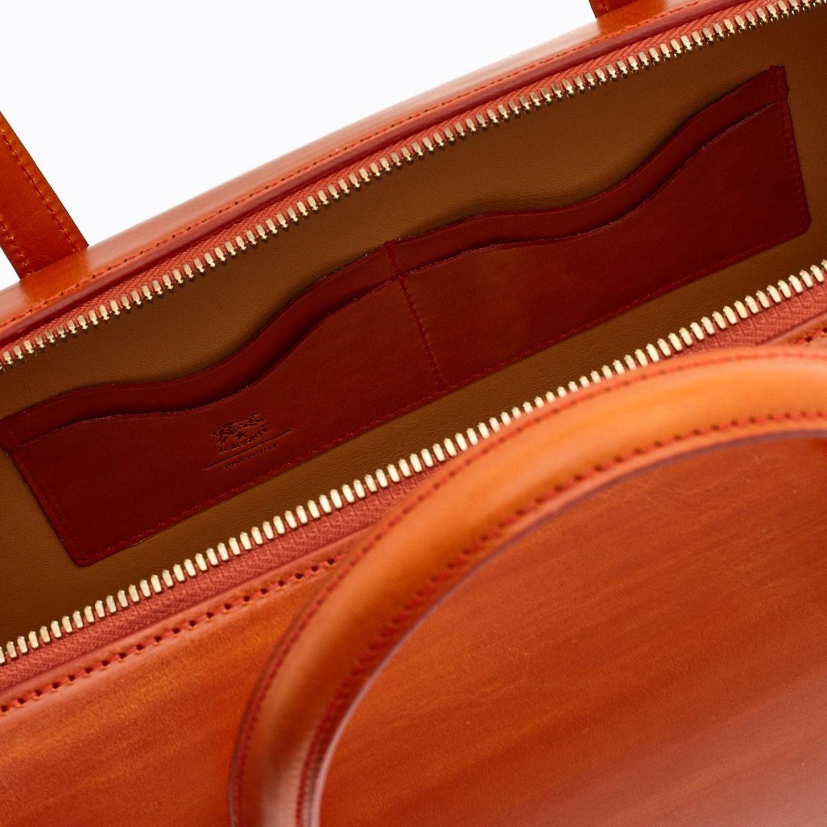 Women's Handbag  in Leather BTH103 color Gazpacho | Details