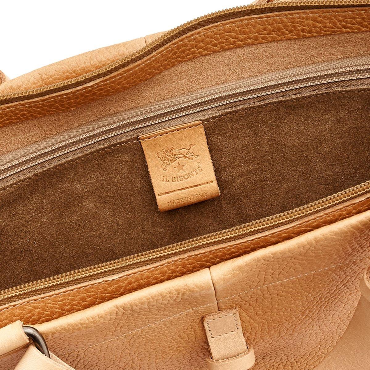 Shopping da Uomo Filicudi in Pelle Di Vacchetta BTO057 colore Naturale | Details