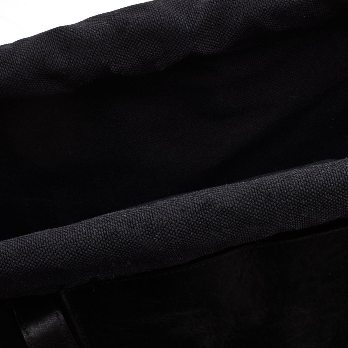 Men's Tote Bag  in Technical Fabric BTO085 color Black/Black | Details