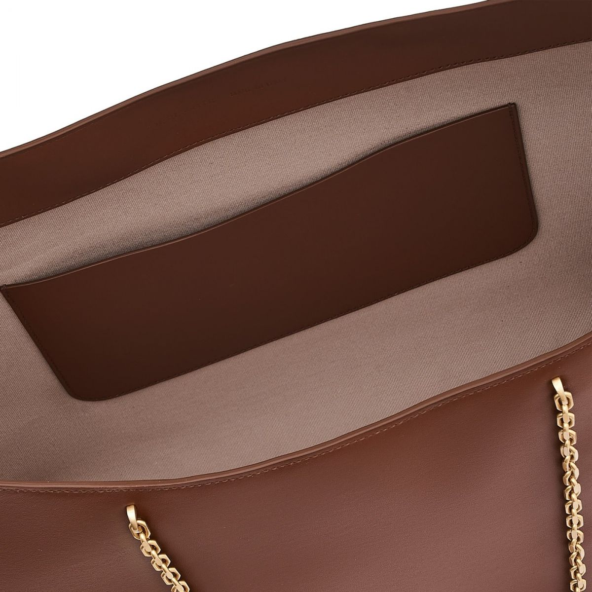 Elba - Women's Tote Bag in Calf Leather color Tobacco - Mediterranea line BTO096 | Details