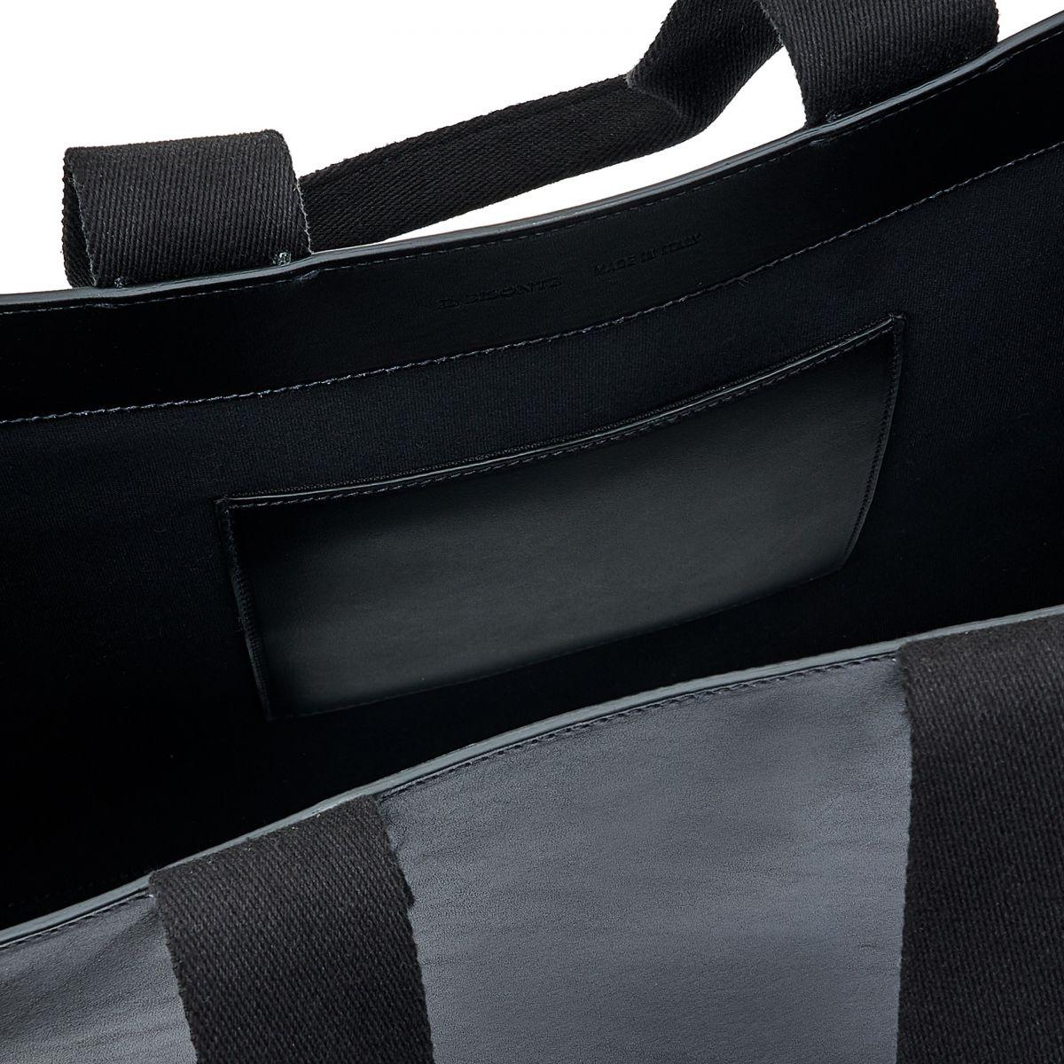 Sole - Shopping in Pelle Di Vacchetta colore Nero - Linea Fifty On BTO098 | Details