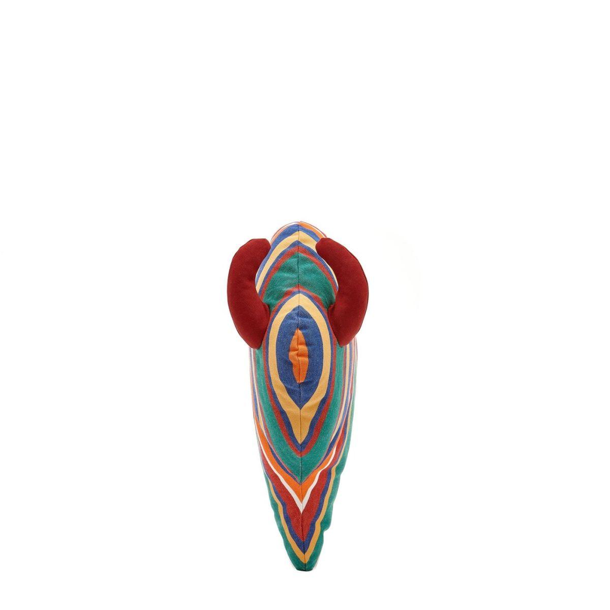 Accessorio Per La Casa  in Cotone A Strisce OHO017 colore Riga Multi / Rosso | Details