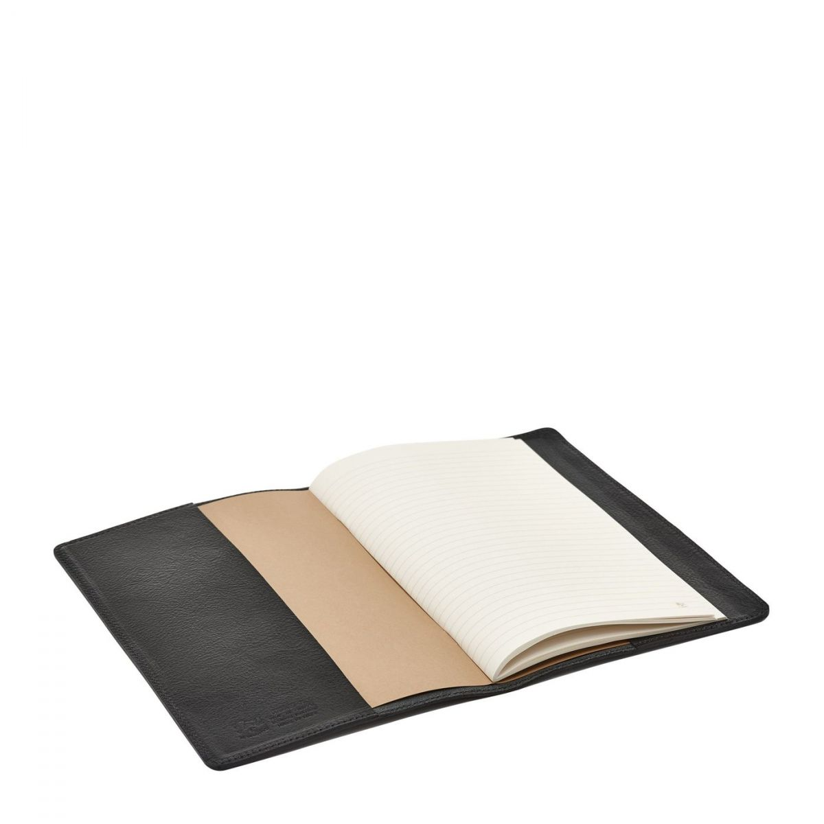 Note Book  in Cowhide Double Leather ONO013 color Black | Details