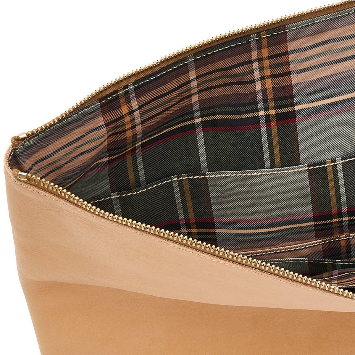 Portfolio in Cowhide Double Leather OSL002 color Natural | Details