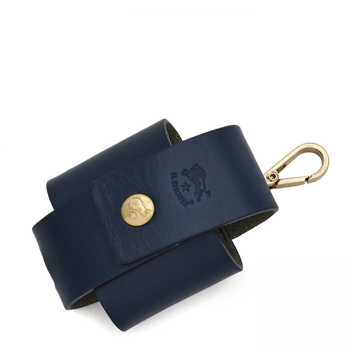 Accessoire I-Tech  en Cuir De Vachette Doublé OTE022 couleur Bleu | Details