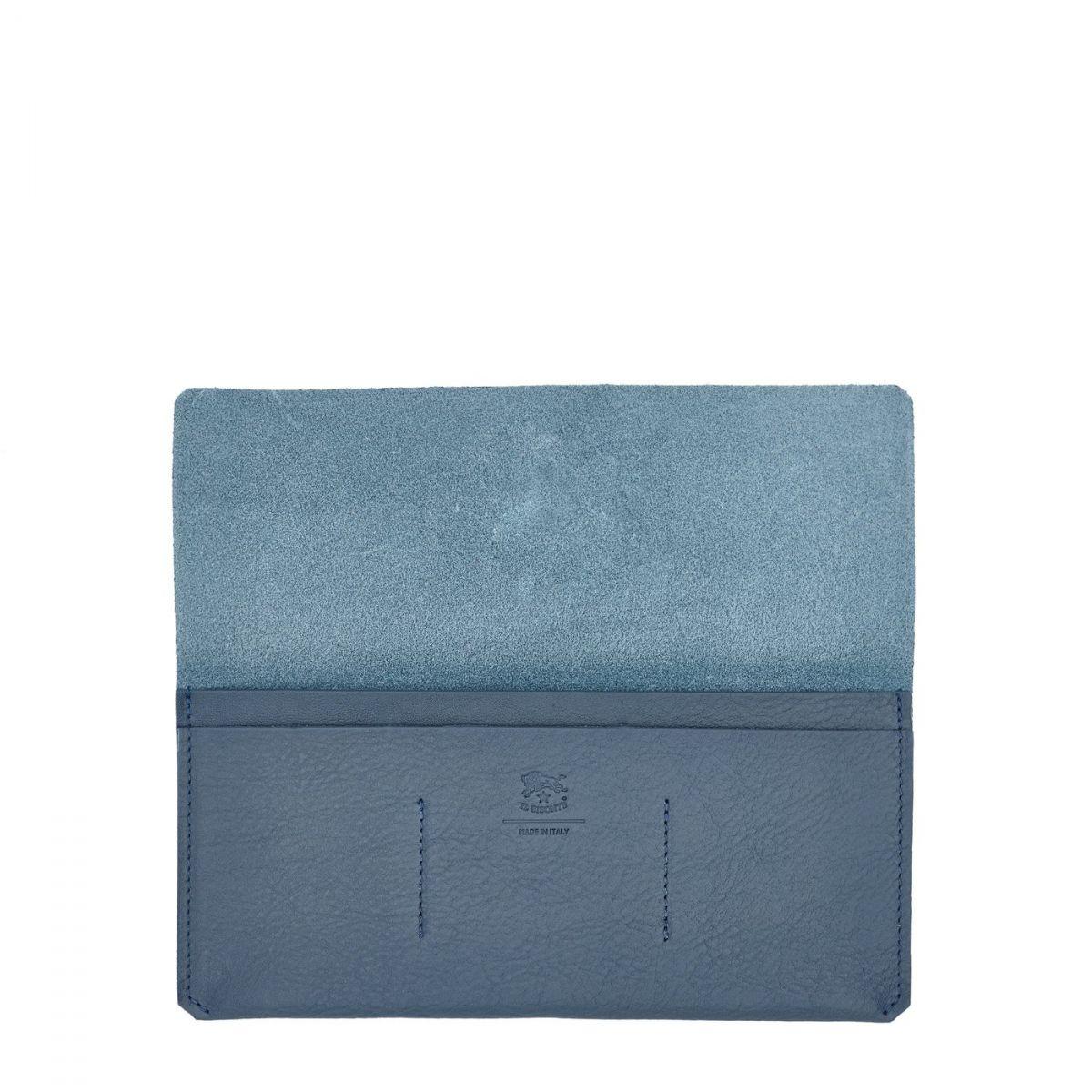 Bi-Fold Wallet  in Cowhide Leather SBW043 color Sugar | Details