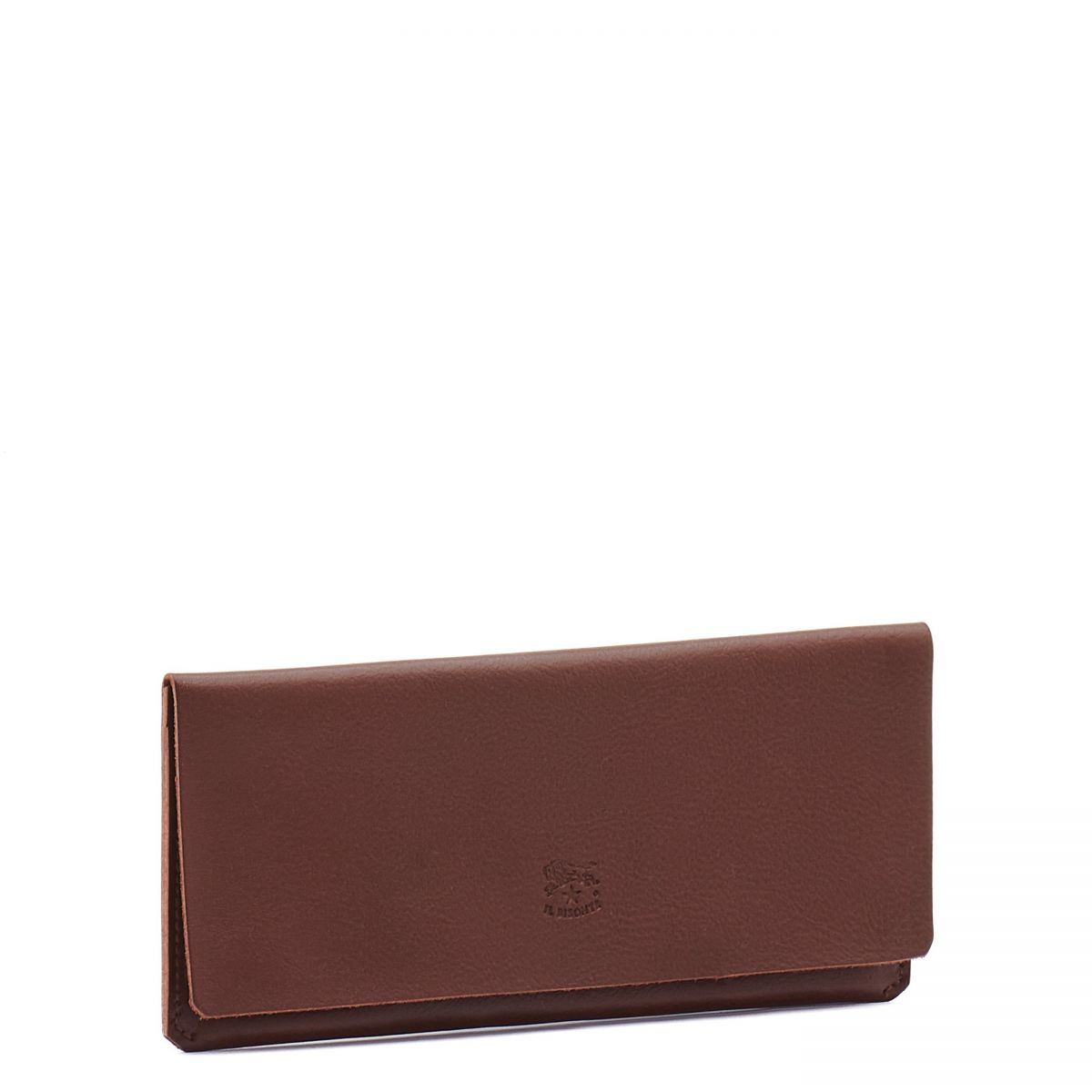 Bi-Fold Wallet  in Cowhide Leather SBW043 color Brown | Details