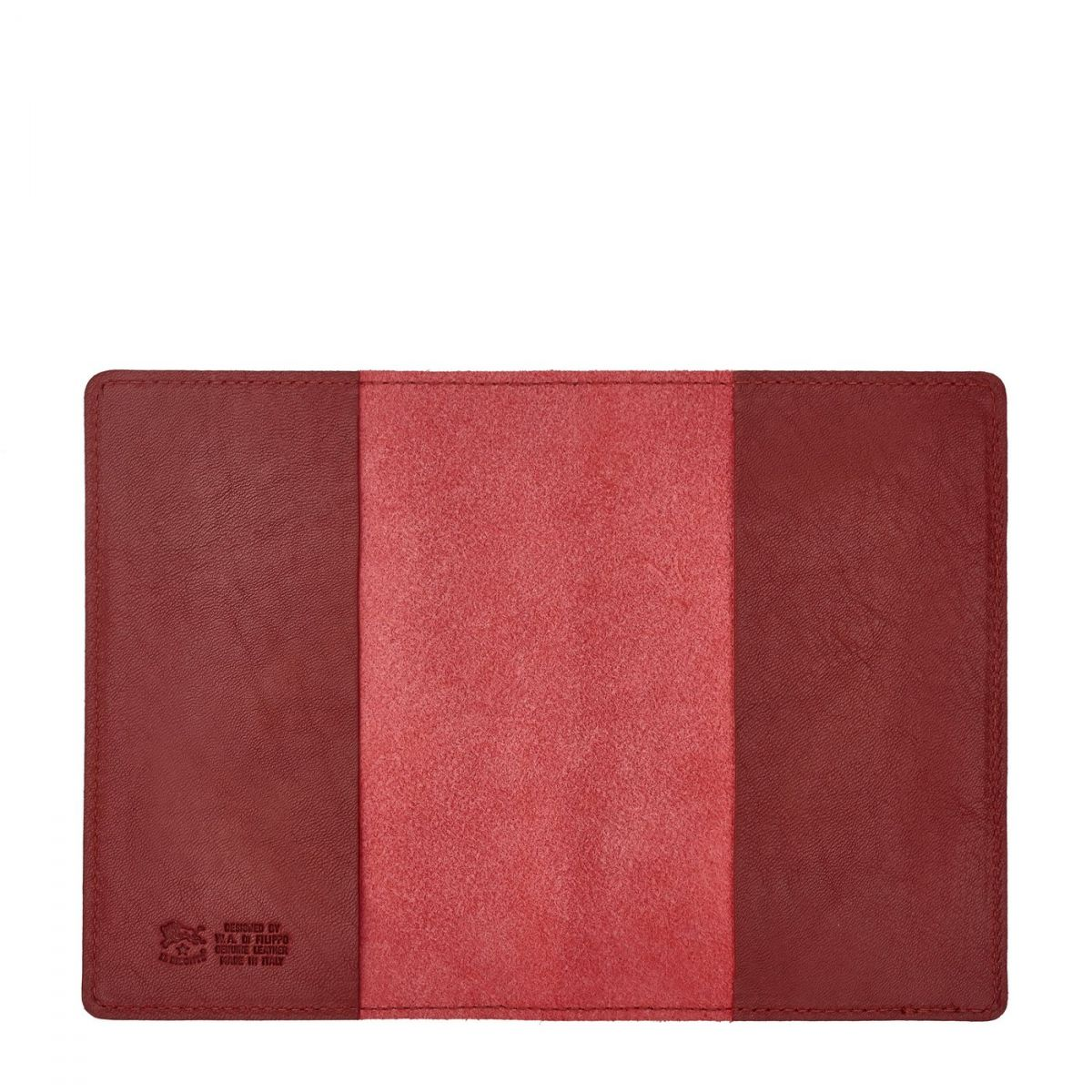 Case  in Cowhide Double Leather SCA005 color Red | Details