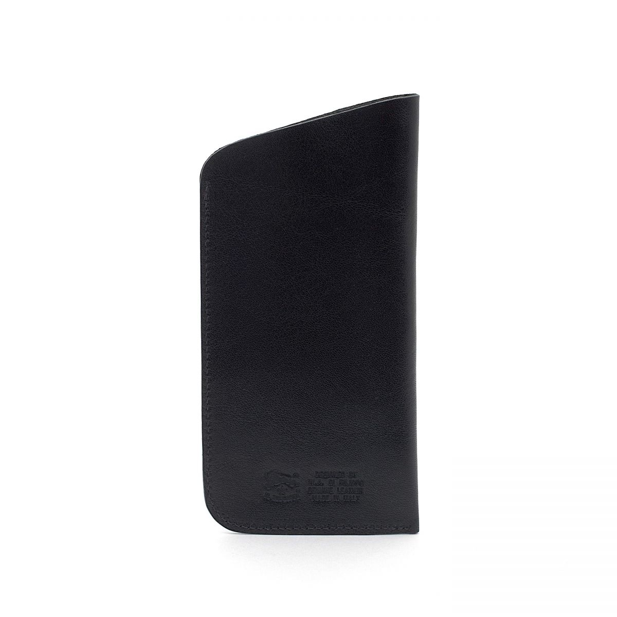 Case  in Cowhide Double Leather SCA006 color Black | Details