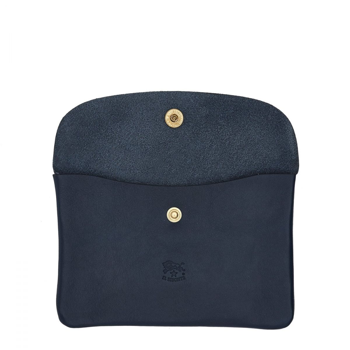 Étui  en Cuir De Vachette Doublé SCA007 couleur Bleu | Details