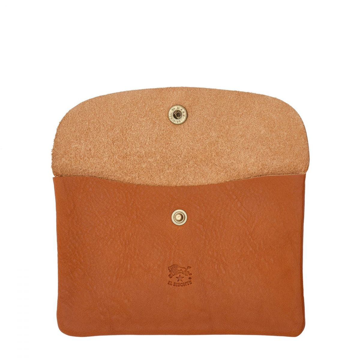 Case  in Cowhide Double Leather SCA007 color Caramel | Details