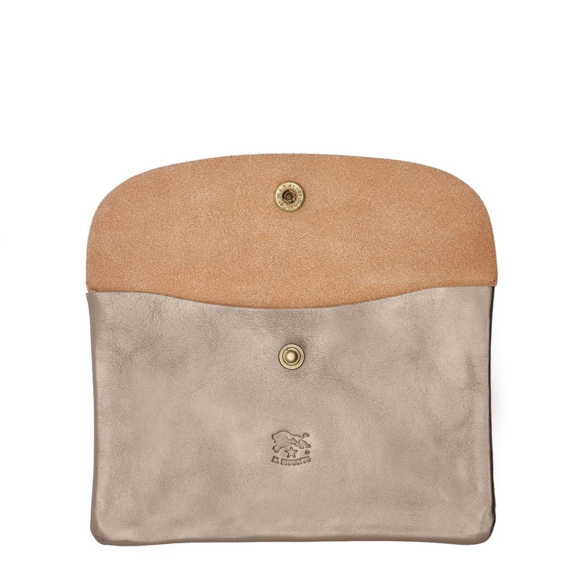 Case in Metallic Leather SCA007 color Metallic Bronze | Details