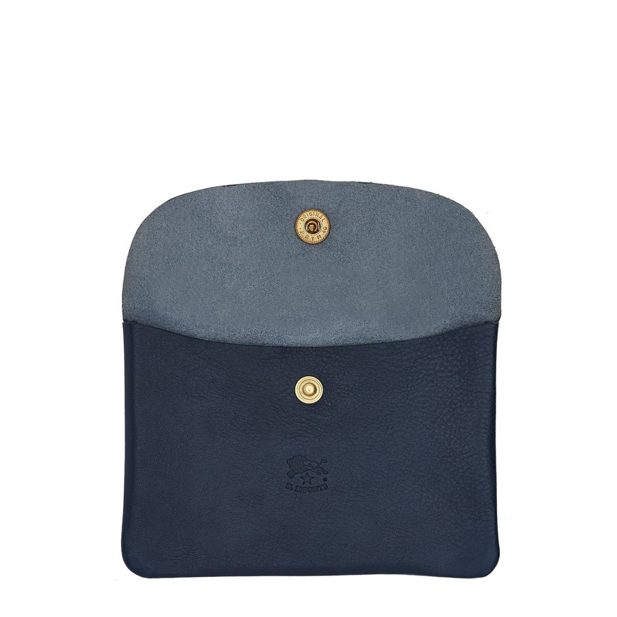 Case  in Cowhide Double Leather SCA008 color Blue | Details