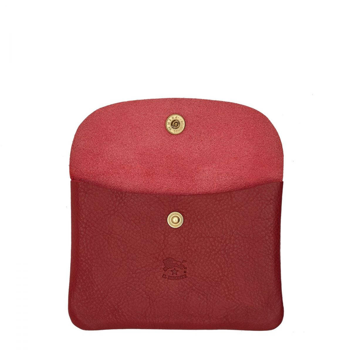 Case  in Cowhide Double Leather SCA008 color Red | Details