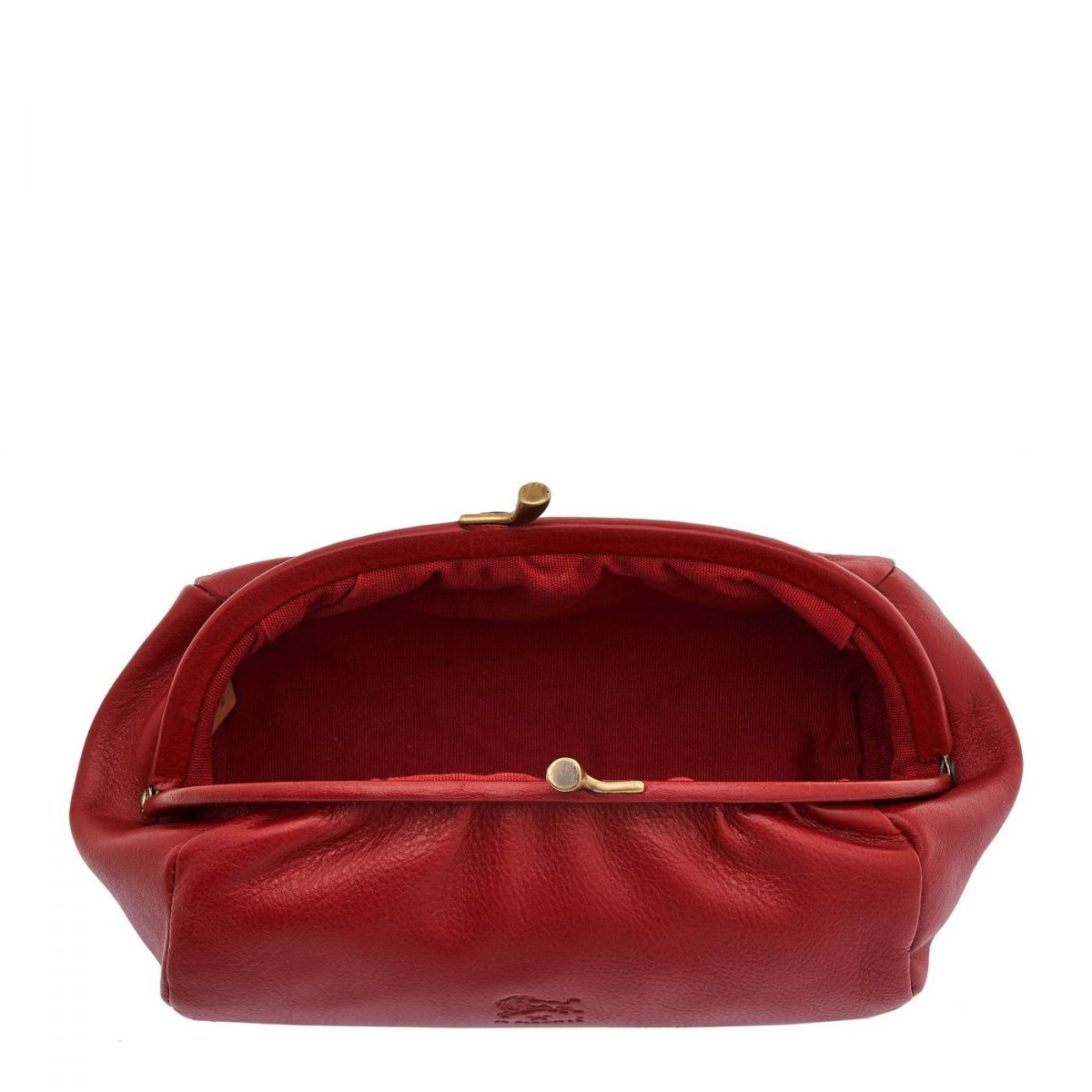 Women's Case  in Cowhide Double Leather SCA009 color Red | Details