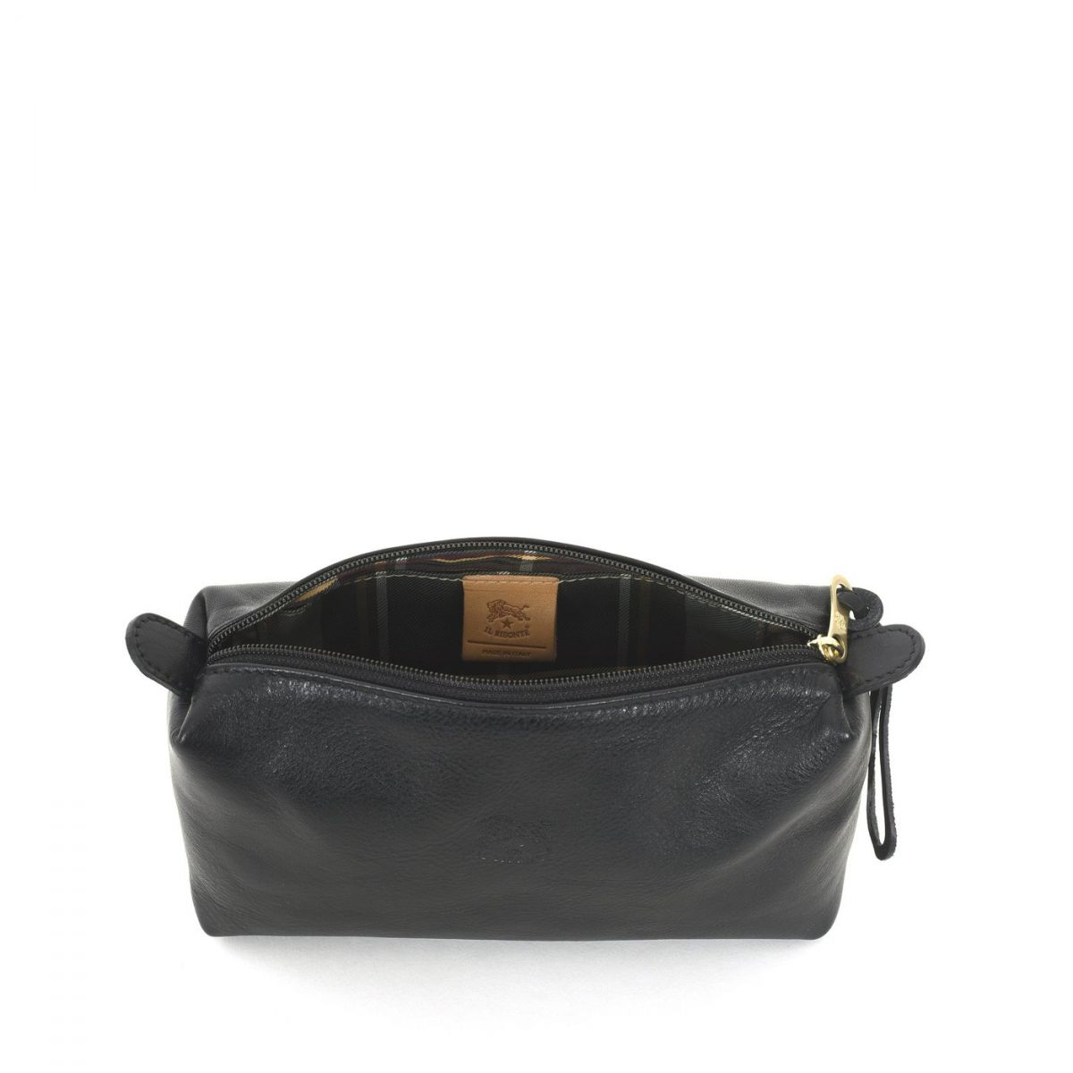 Women's Case  in Cowhide Double Leather SCA012 color Black | Details