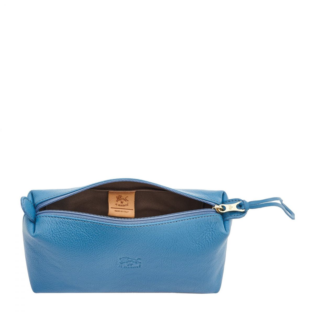 Women's Case in Cowhide Leather color Blue Teal - SCA012 | Details