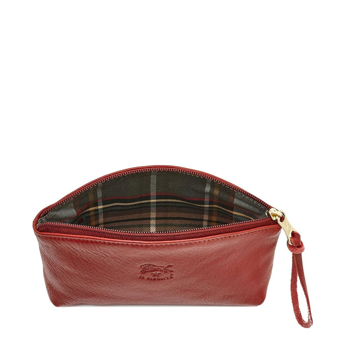 Women's Case in Cowhide Double Leather color Red - SCA014 | Details