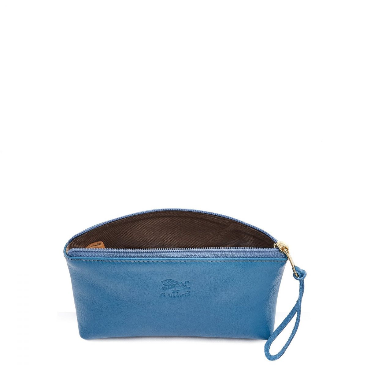 Women's Case in Cowhide Leather color Blue Teal - SCA014 | Details