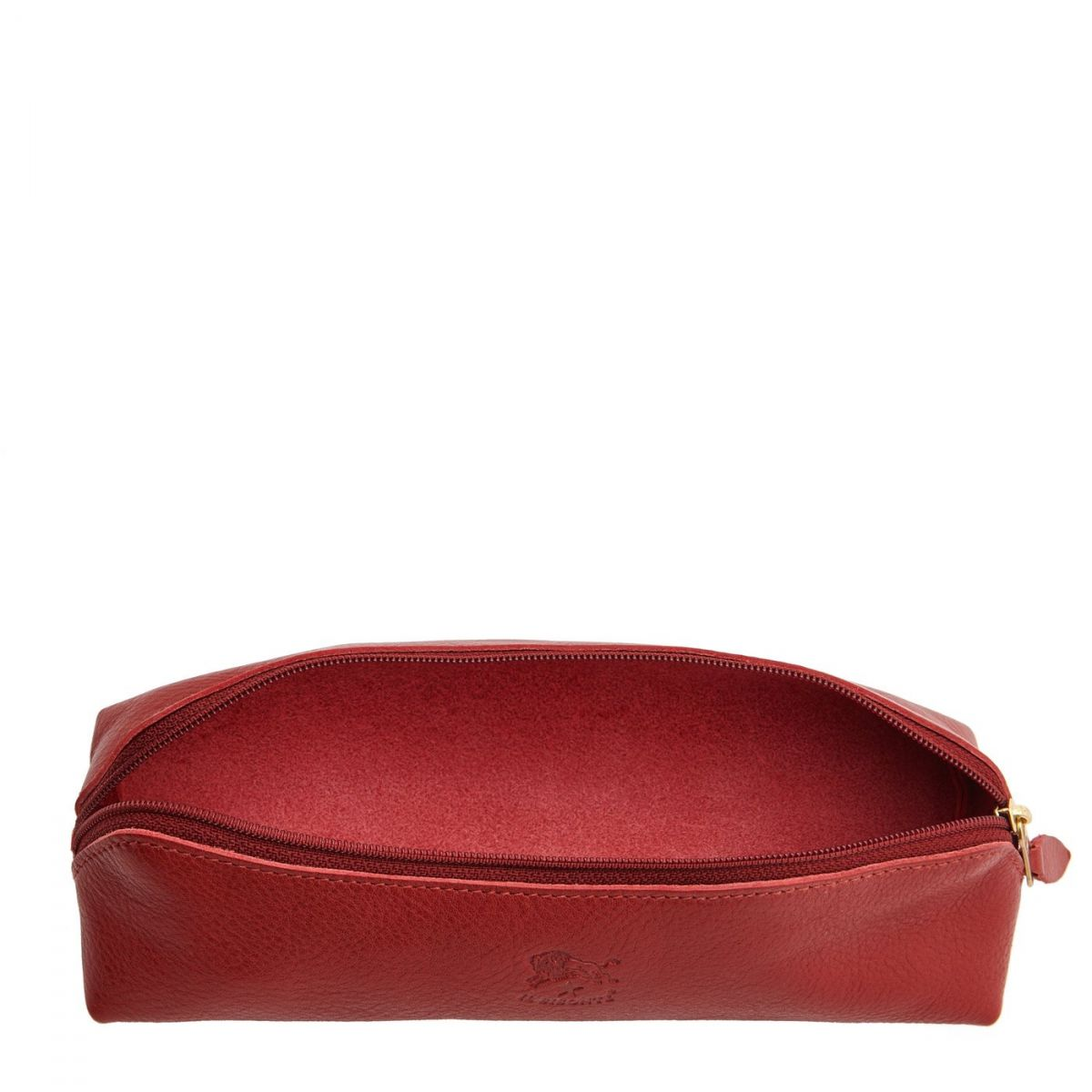 Women's Case  in Cowhide Double Leather SCA020 color Red | Details