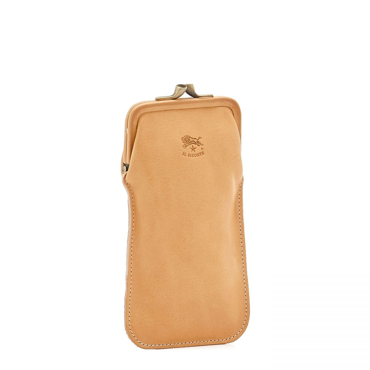 Case in Cowhide Double Leather color Natural - SCA025 | Details