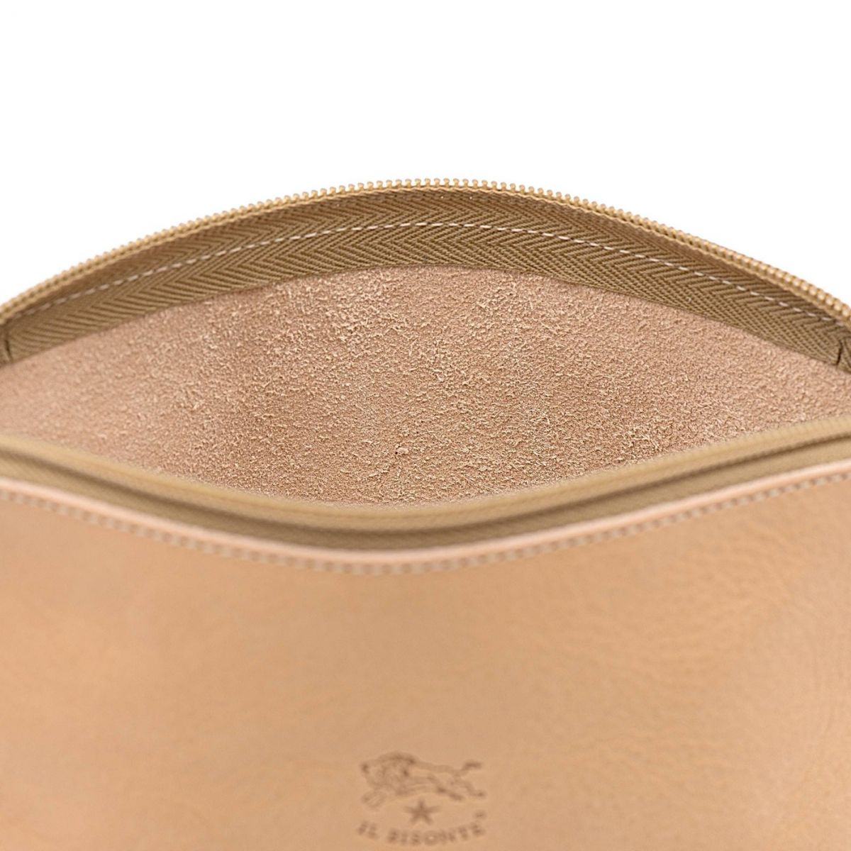 Women's Case  in Cowhide Double Leather SCA033 color Natural | Details