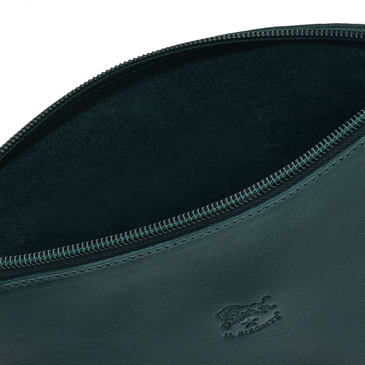 Women's Case in Cowhide Leather SCA033 color Rosemary | Details