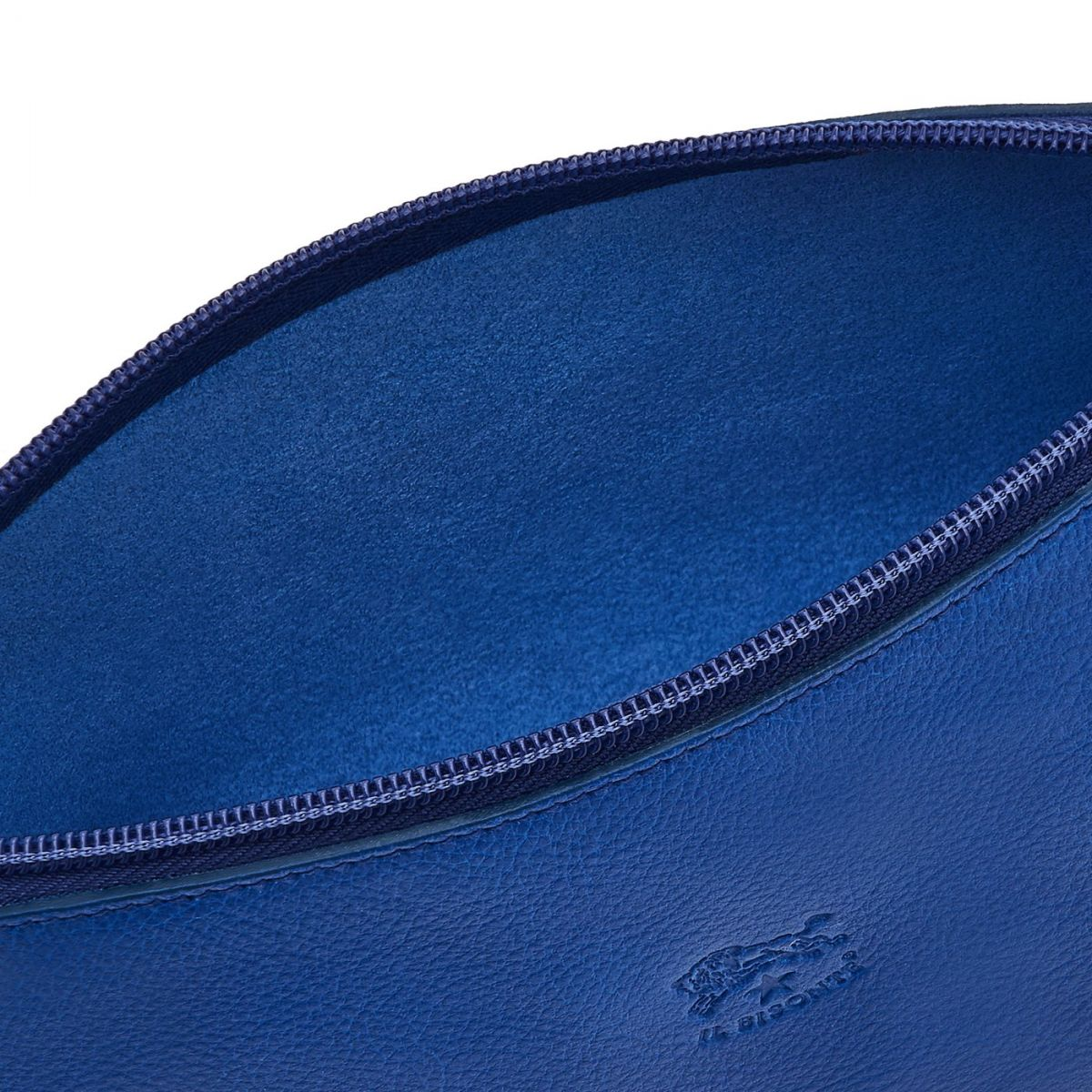 Women's Case in Cowhide Leather SCA033 color Blueberry | Details