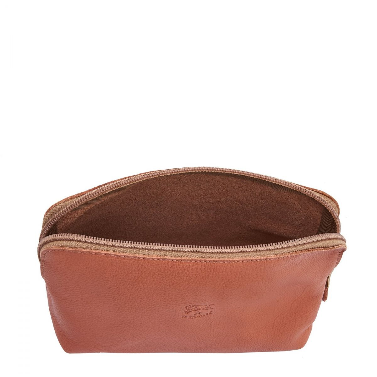 Women's Case in Cowhide Leather SCA033 color Pink Pepper | Details
