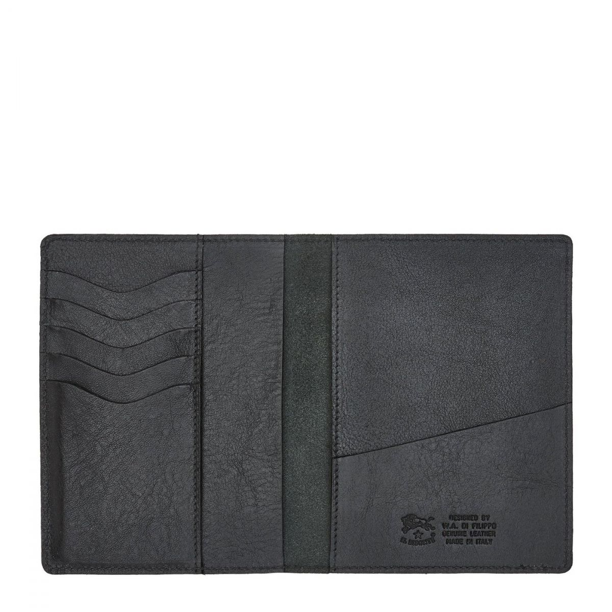 Case  in Cowhide Double Leather SCA036 color Black | Details