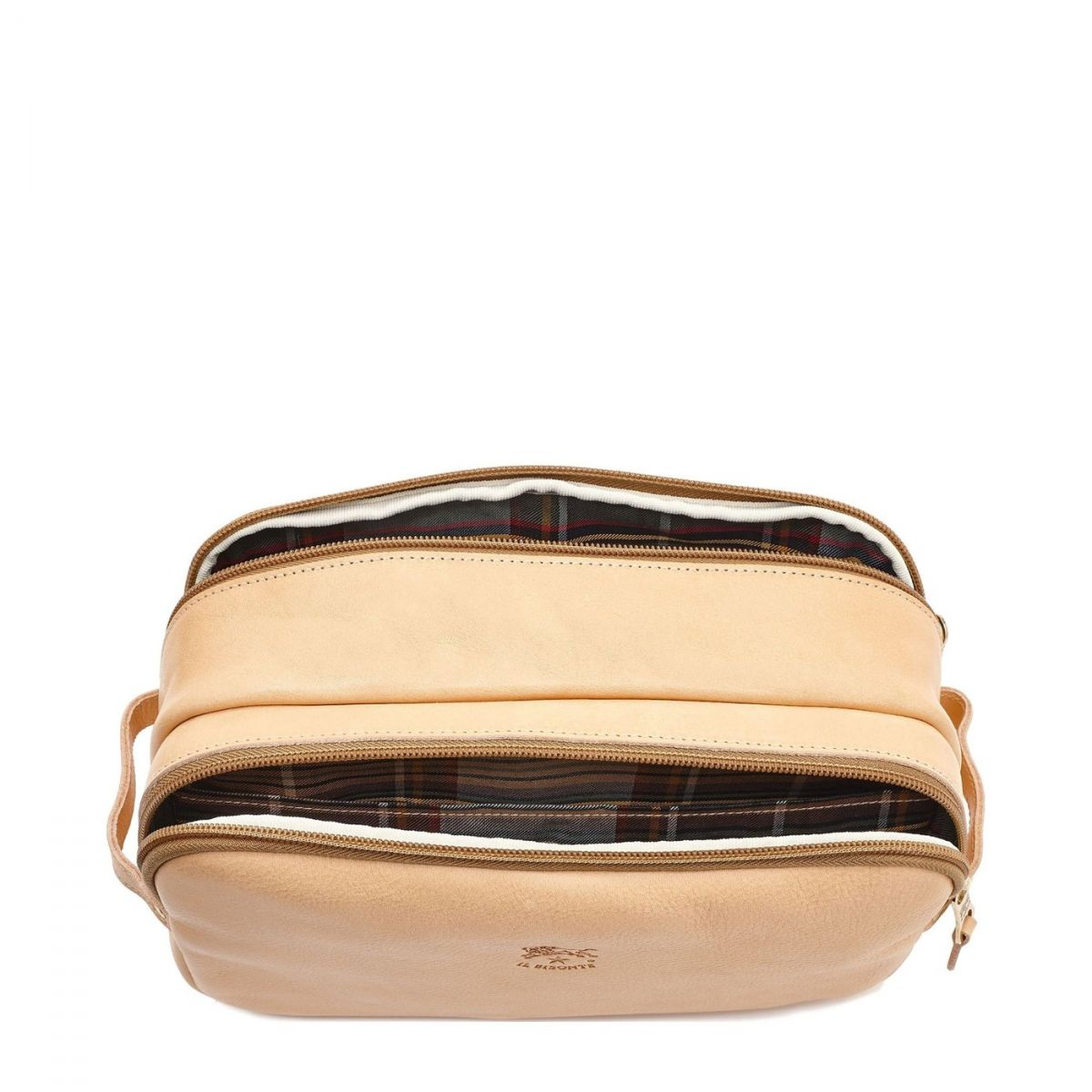 Men's Case  in Cowhide Double Leather SCA040 color Natural | Details