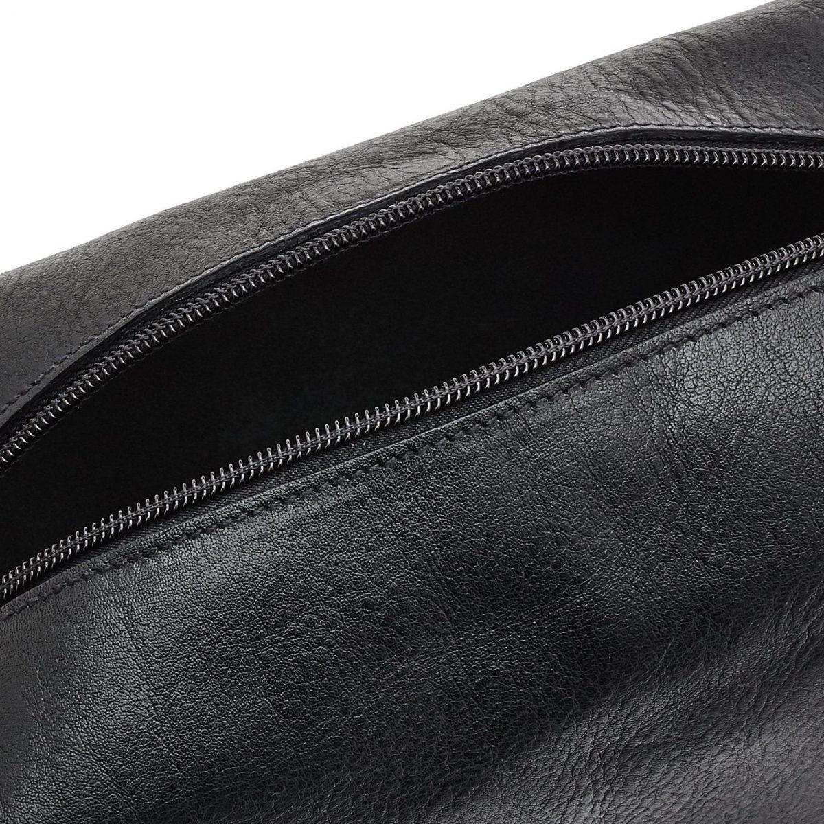 Custodia  in Pelle Di Vacchetta SCA048 colore Nero | Details