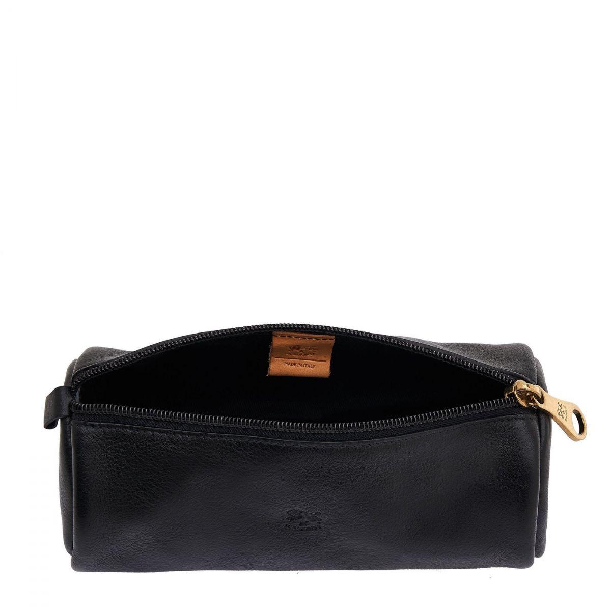 Case  in Cowhide Leather SCA049 color Black | Details