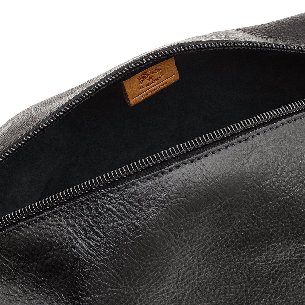 Étui pour Femme  en Cuir De Vachette SCA056 couleur Noir | Details