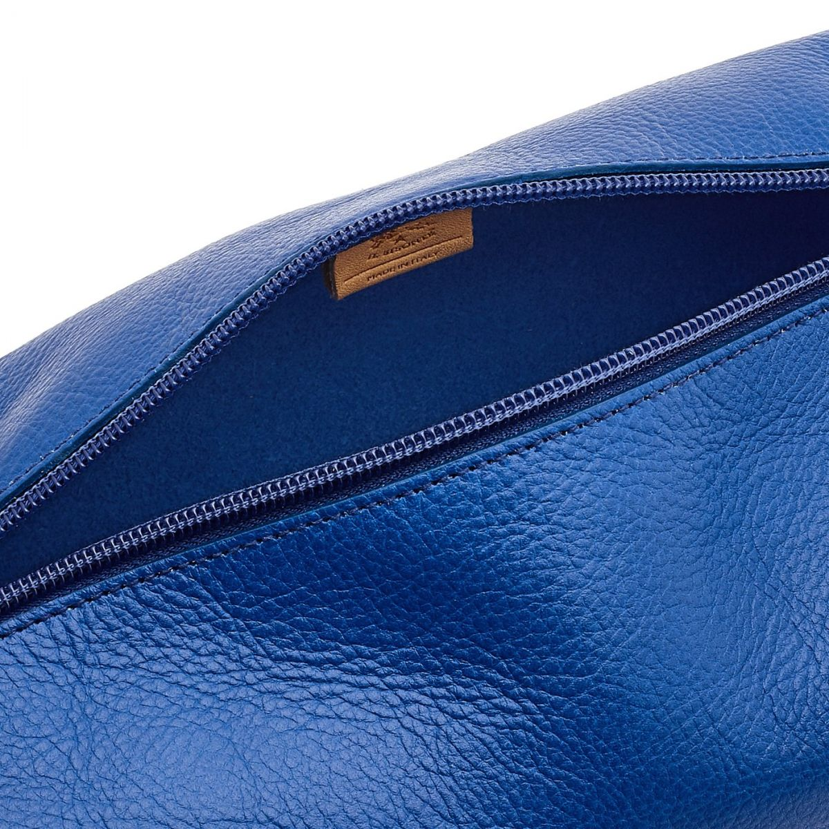 Women's Case  in Cowhide Leather SCA056 color Blueberry | Details