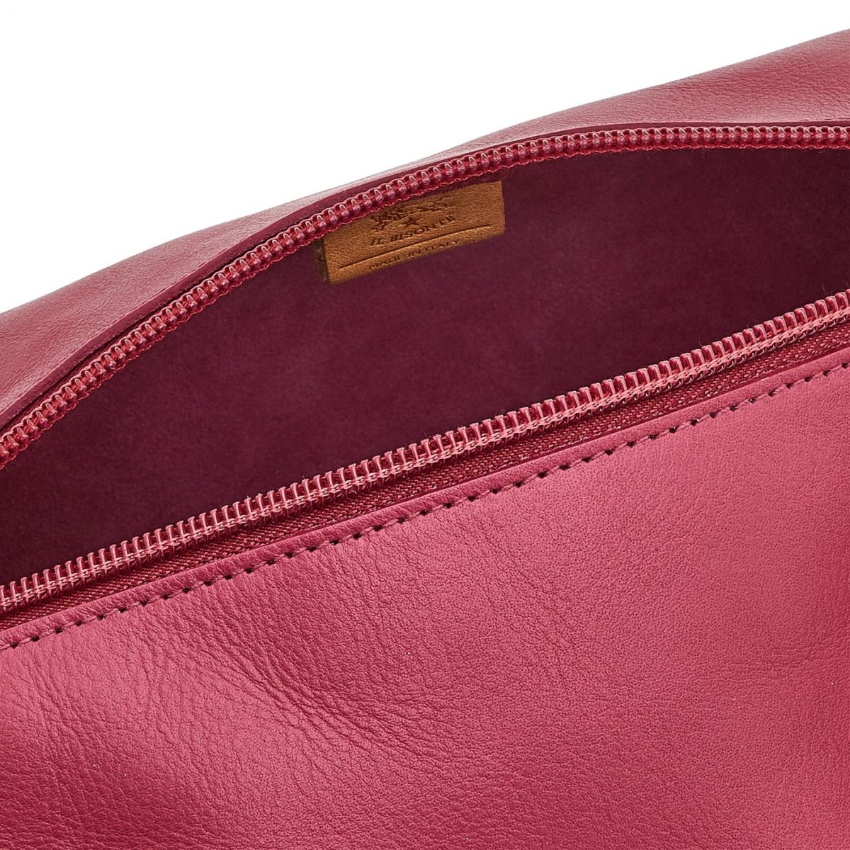 Women's Case  in Cowhide Leather SCA056 color Sumac | Details