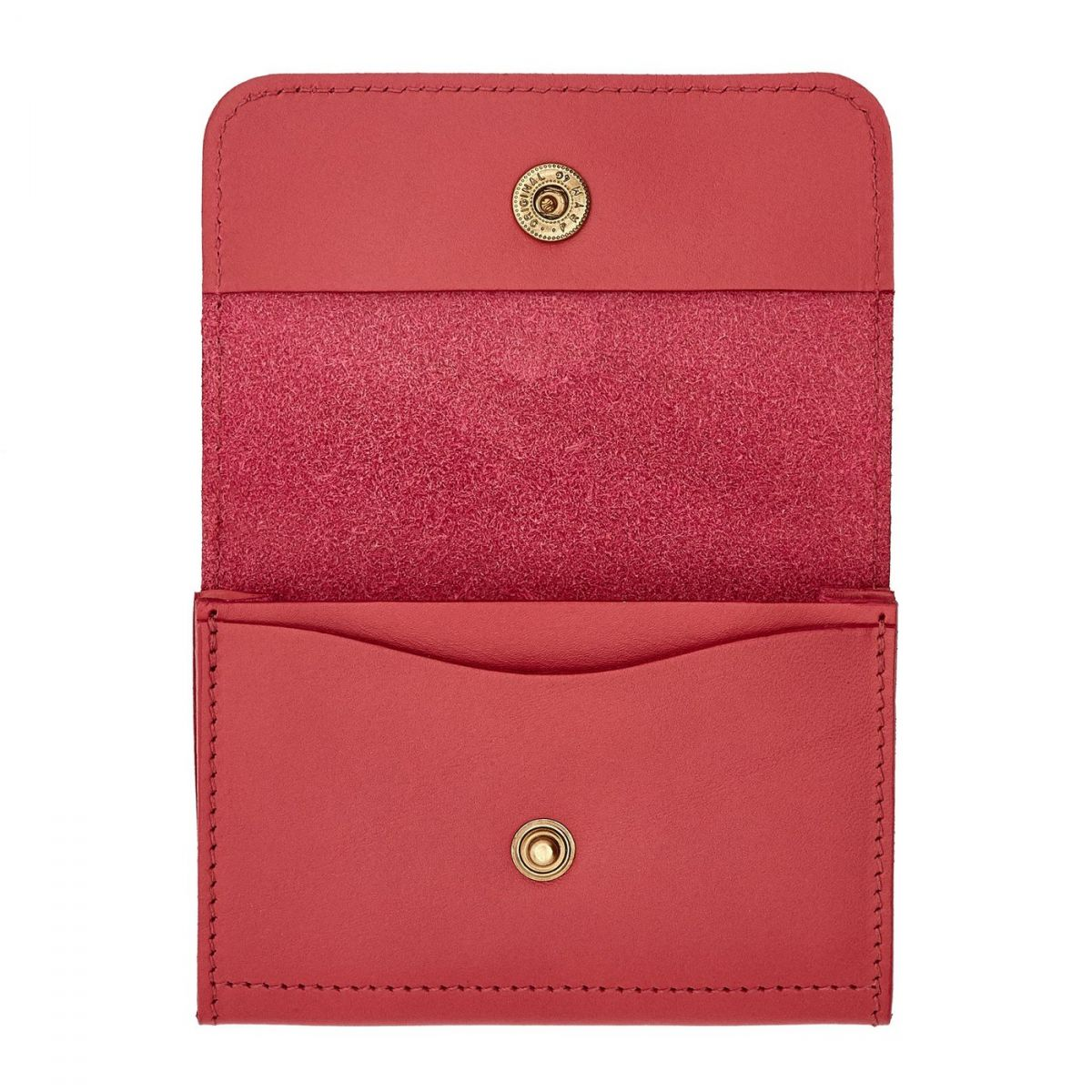 Card Case Piccolino in Cowhide Leather SCC006 color Sumac | Details