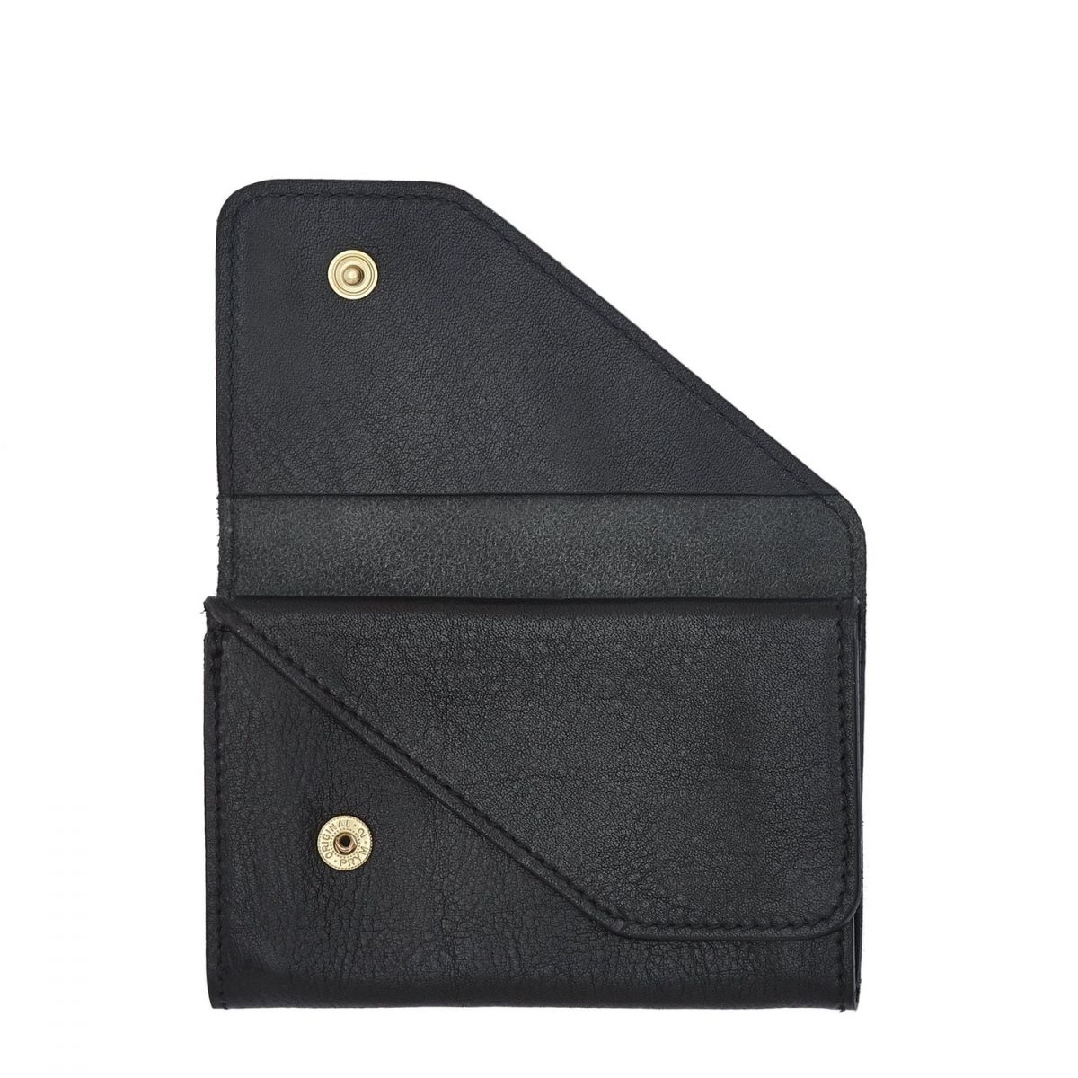Card Case  in Cowhide Double Leather SCC015 color Black | Details