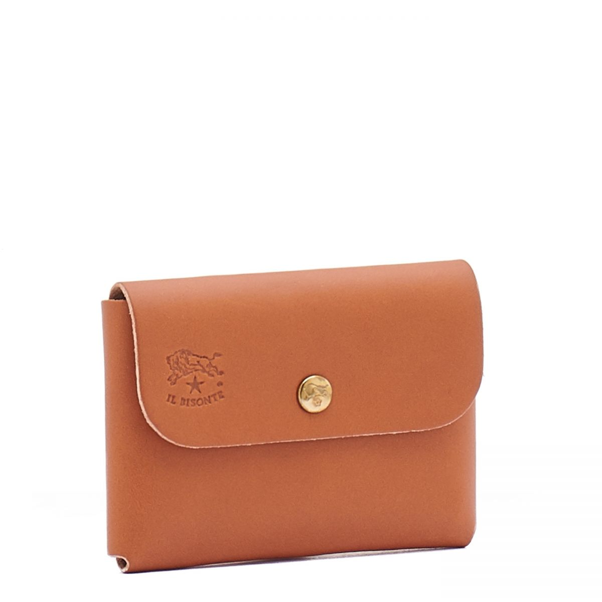 Card Case  in Cowhide Double Leather SCC032 color Natural | Details